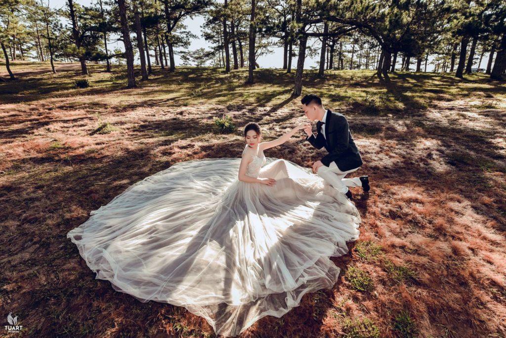 chụp hình cưới đẹp đà lạt