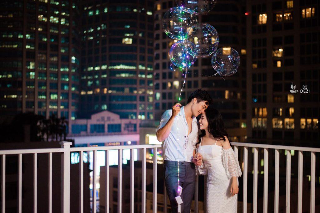 chụp ảnh cưới đẹp ở quán cafe lofita