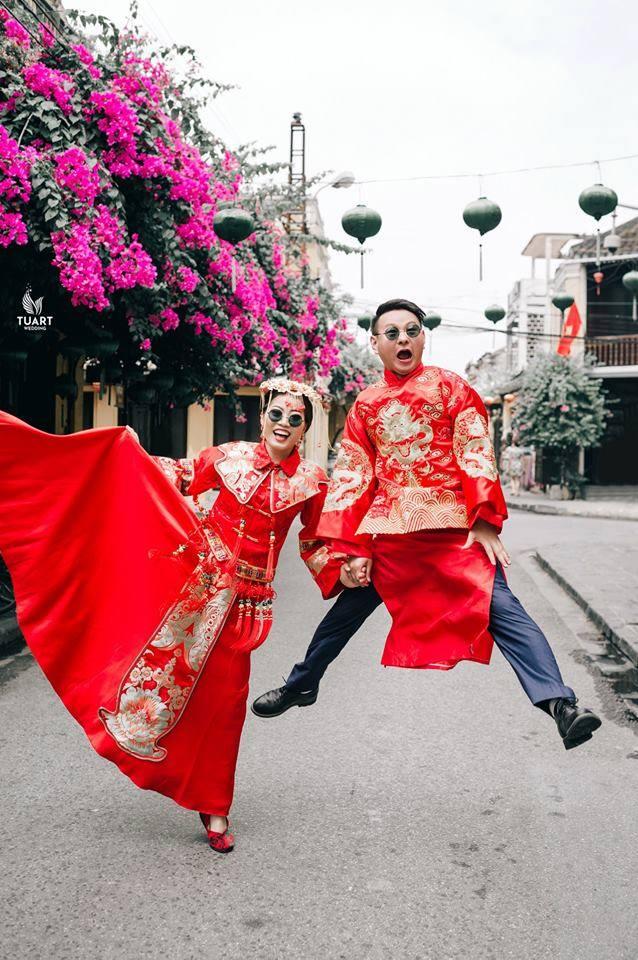chụp ảnh cưới ở Hội An