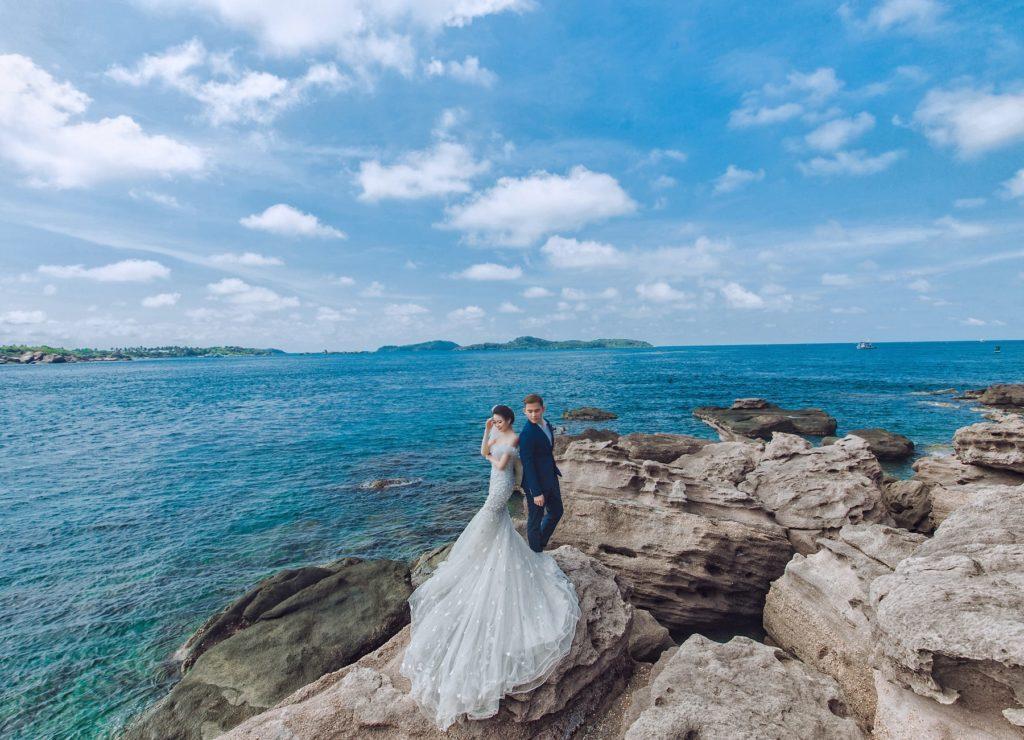 hình cưới đẹp phú quốc