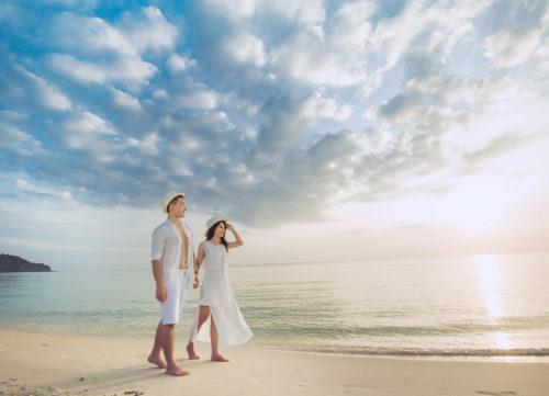 """""""Mách"""" bạn kinh nghiệm chụp ảnh cưới đẹp tại các bãi biển Phú Quốc"""