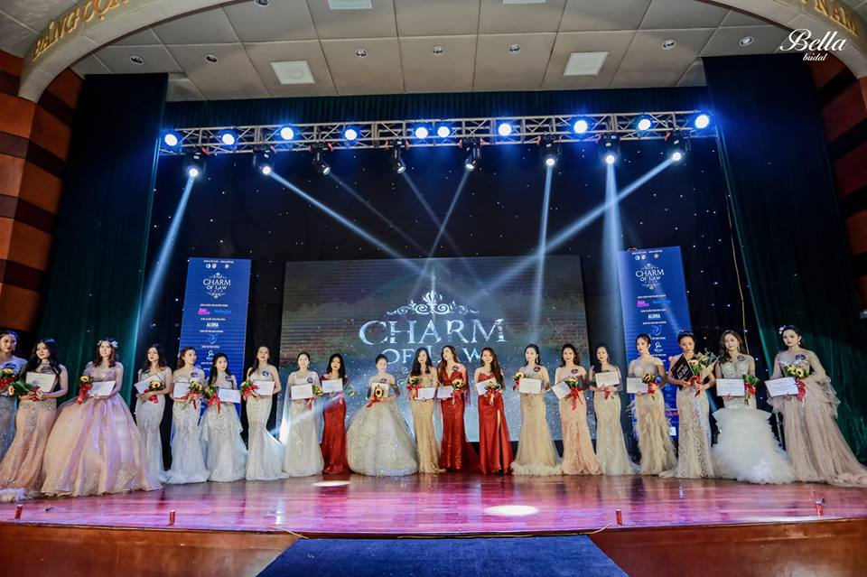 "BELLA BRIDAL VIETNAM HONOURED TO BE GOLD SPONSOR OF "" CHARM OF LAW 2018 """