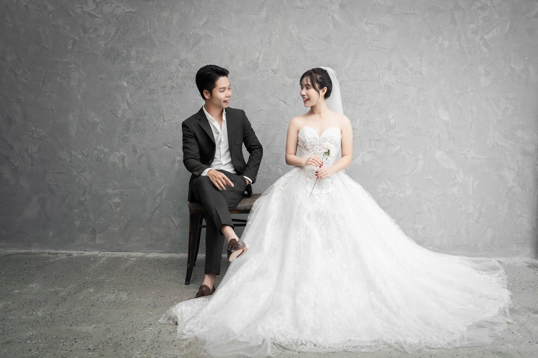 Album ảnh cưới theo phong cách Hàn Quốc 1