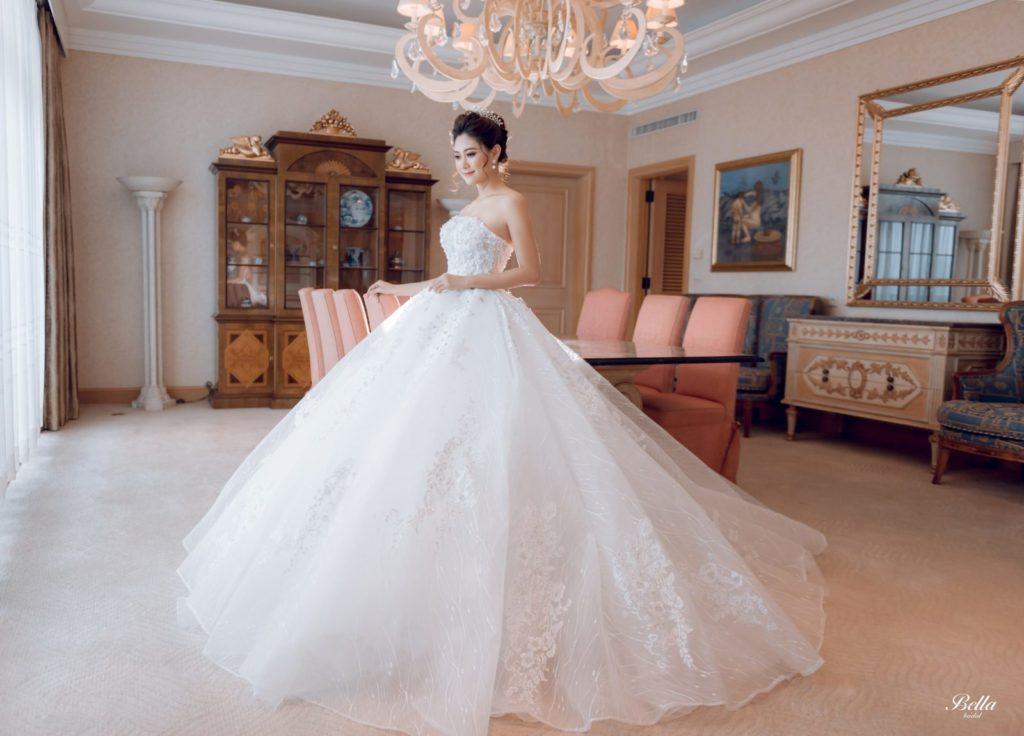 Bắt Trend những mẫu váy cưới hot nhất 2018 -2019