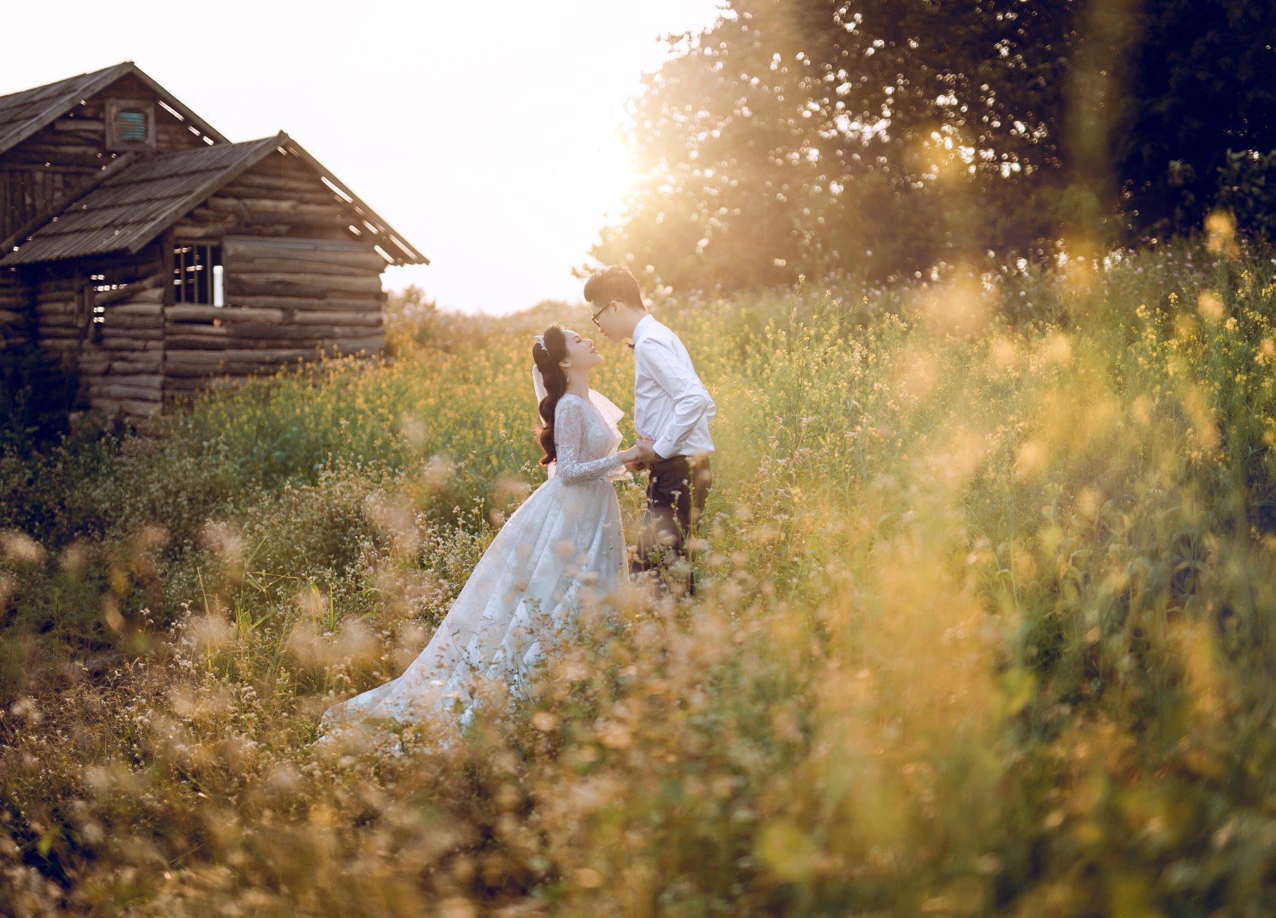 Tư vấn địa điểm chụp ảnh cưới mùa xuân tại Hà Nội