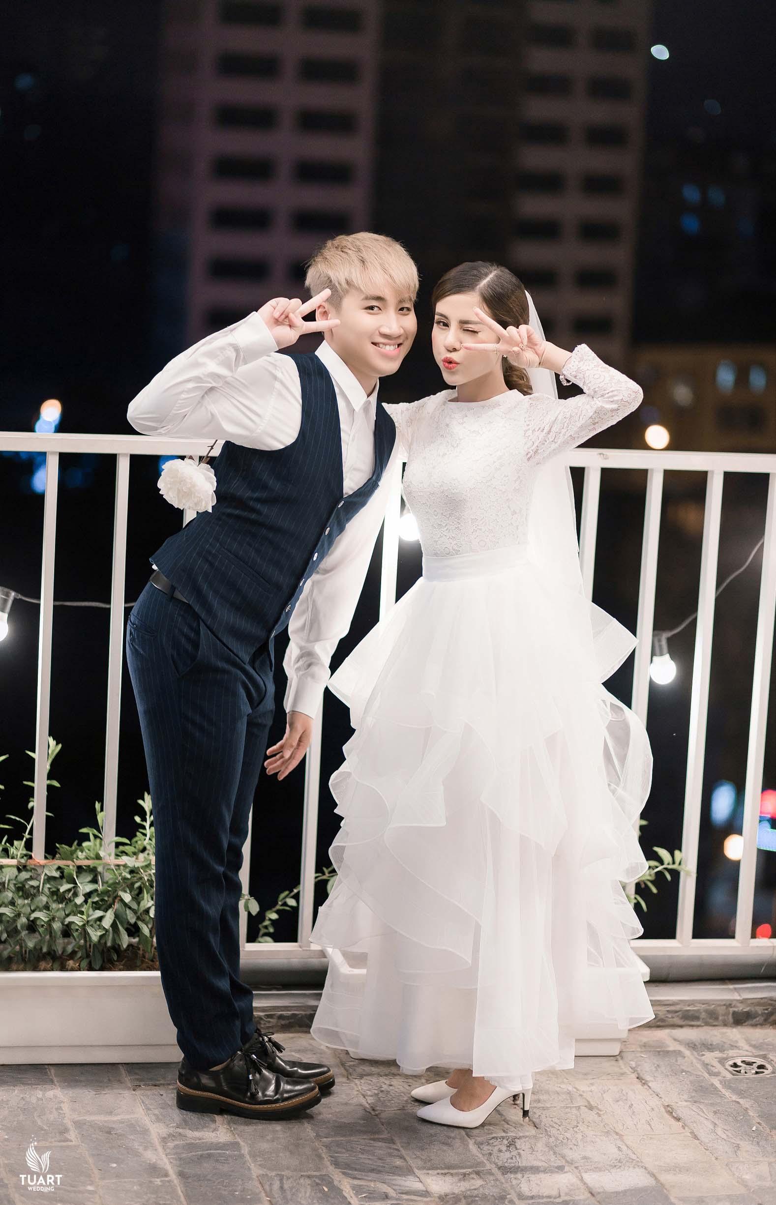 Album ảnh cưới hot vlogger Huy Cung