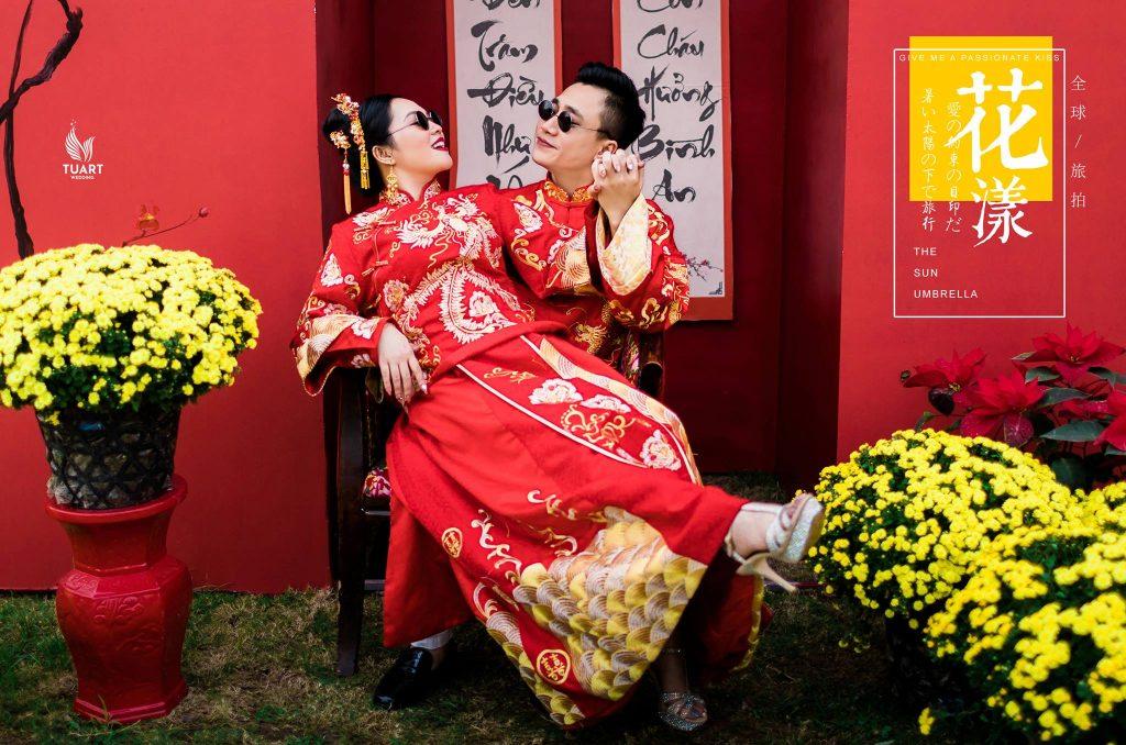 chụp ảnh cưới phong cách trung hoa