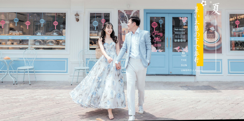 phong cách chụp ảnh cưới Hàn Quốc 1