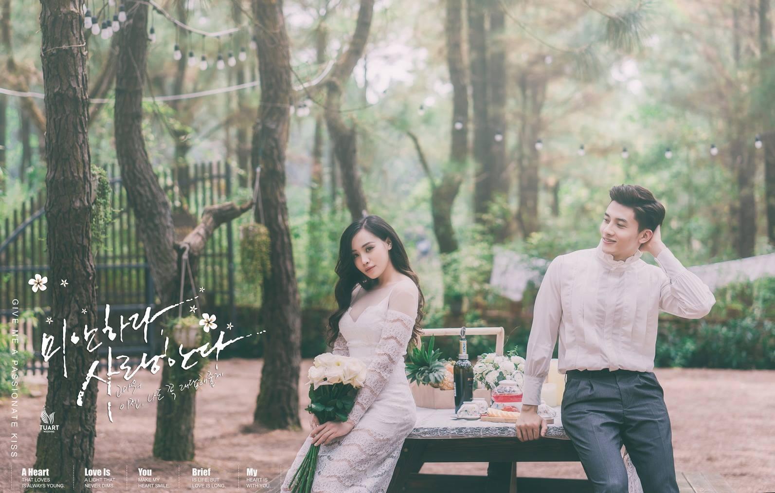 Album ảnh cưới đẹp Đại Lải: MC hotgril Ly Giáng Vũ 9