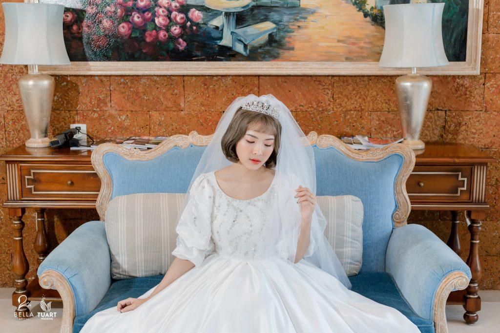 thử làm cô dâu
