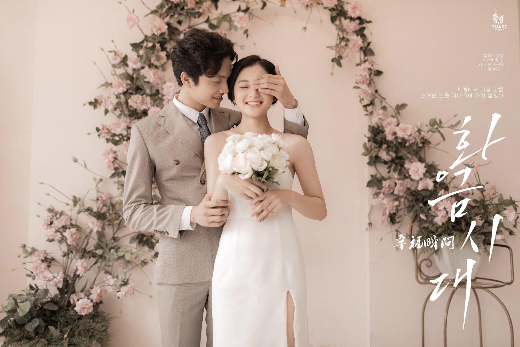 Album ảnh cưới đẹp phong cách Hàn Quốc