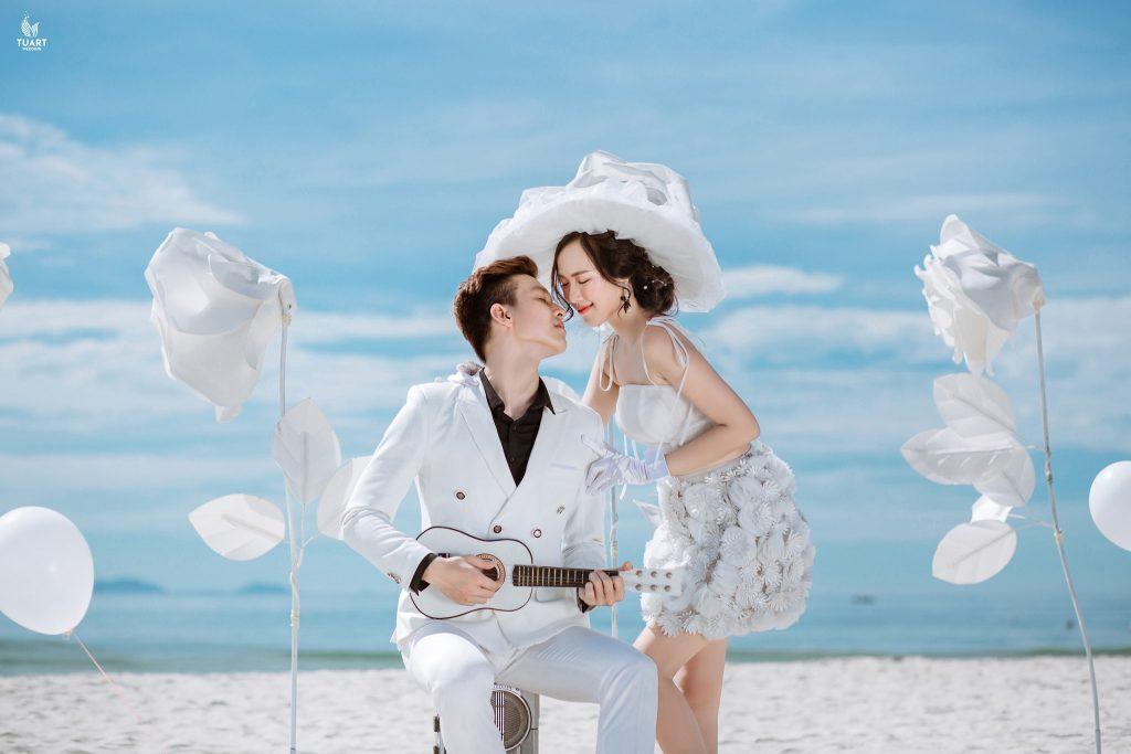 chụp ảnh cưới phong cách biển đẹp