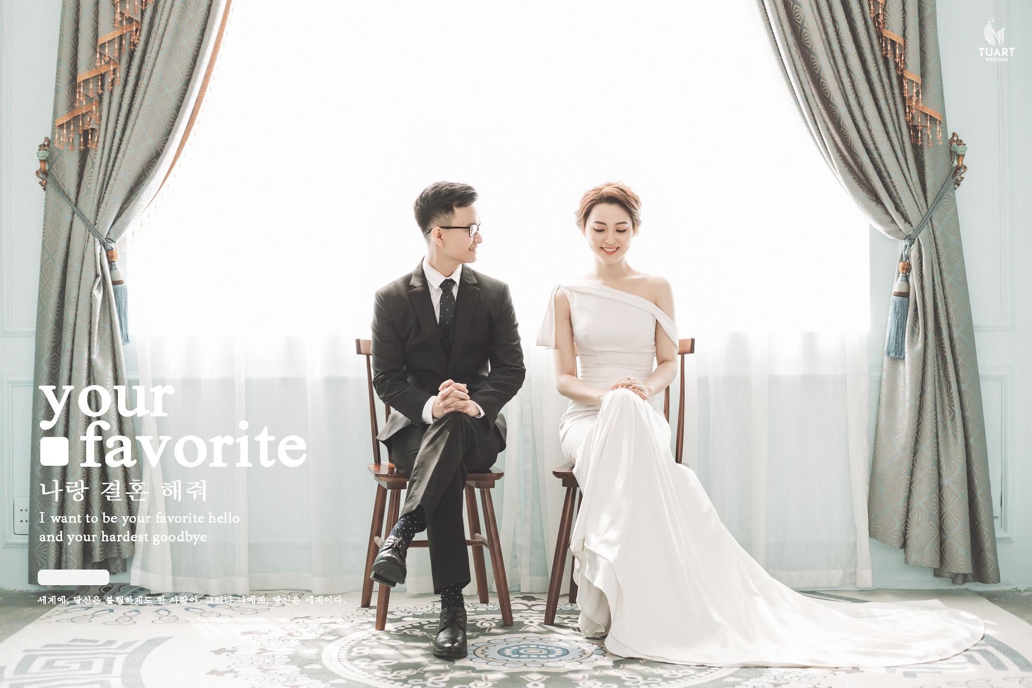 Album ảnh cưới Hàn Quốc tại Studio 5