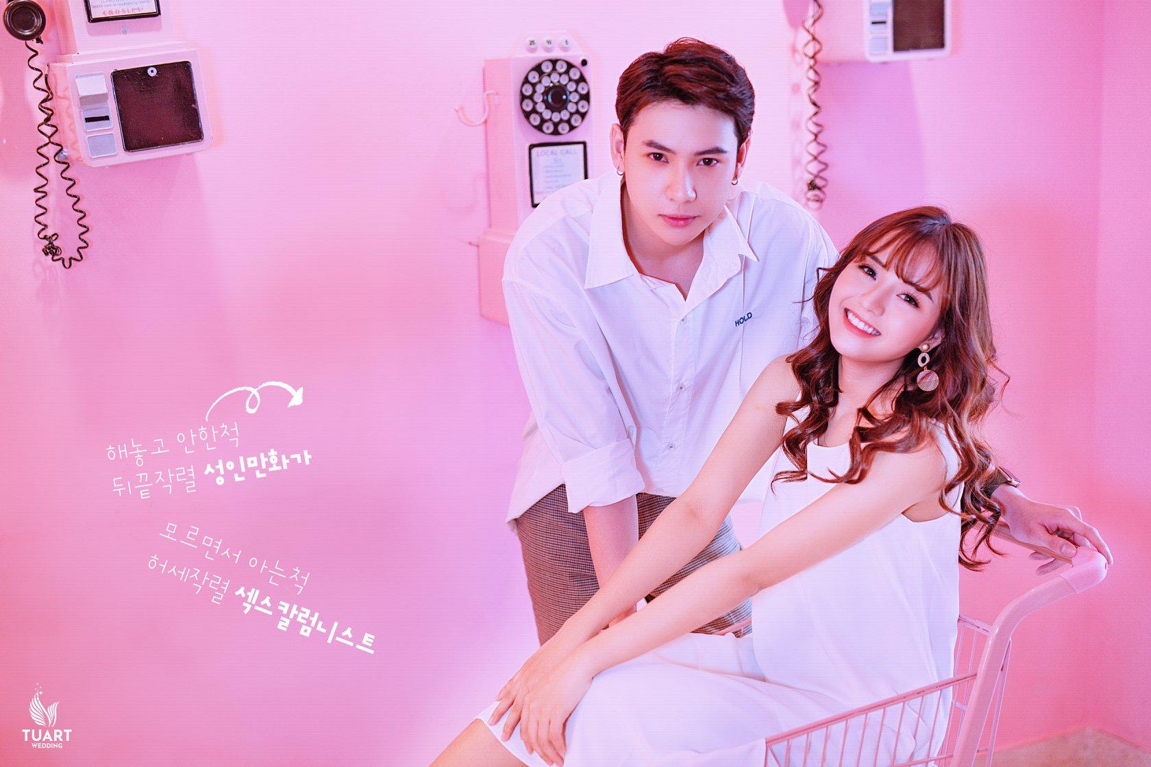 Album tại TuArt - Album chụp ảnh cưới đẹp phong cách Hàn Quốc 101