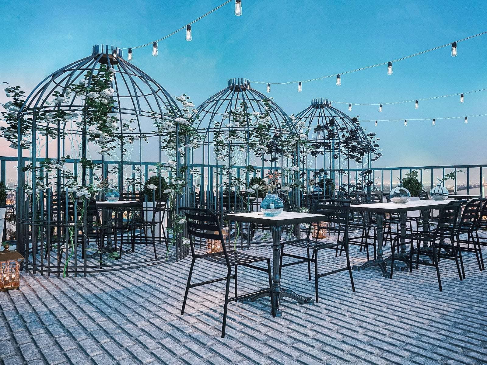 """Tổng hợp 56 quán cafe đẹp Hà Nội với view đẹp """"phát hờn"""", chụp ảnh check in siêu đẹp"""