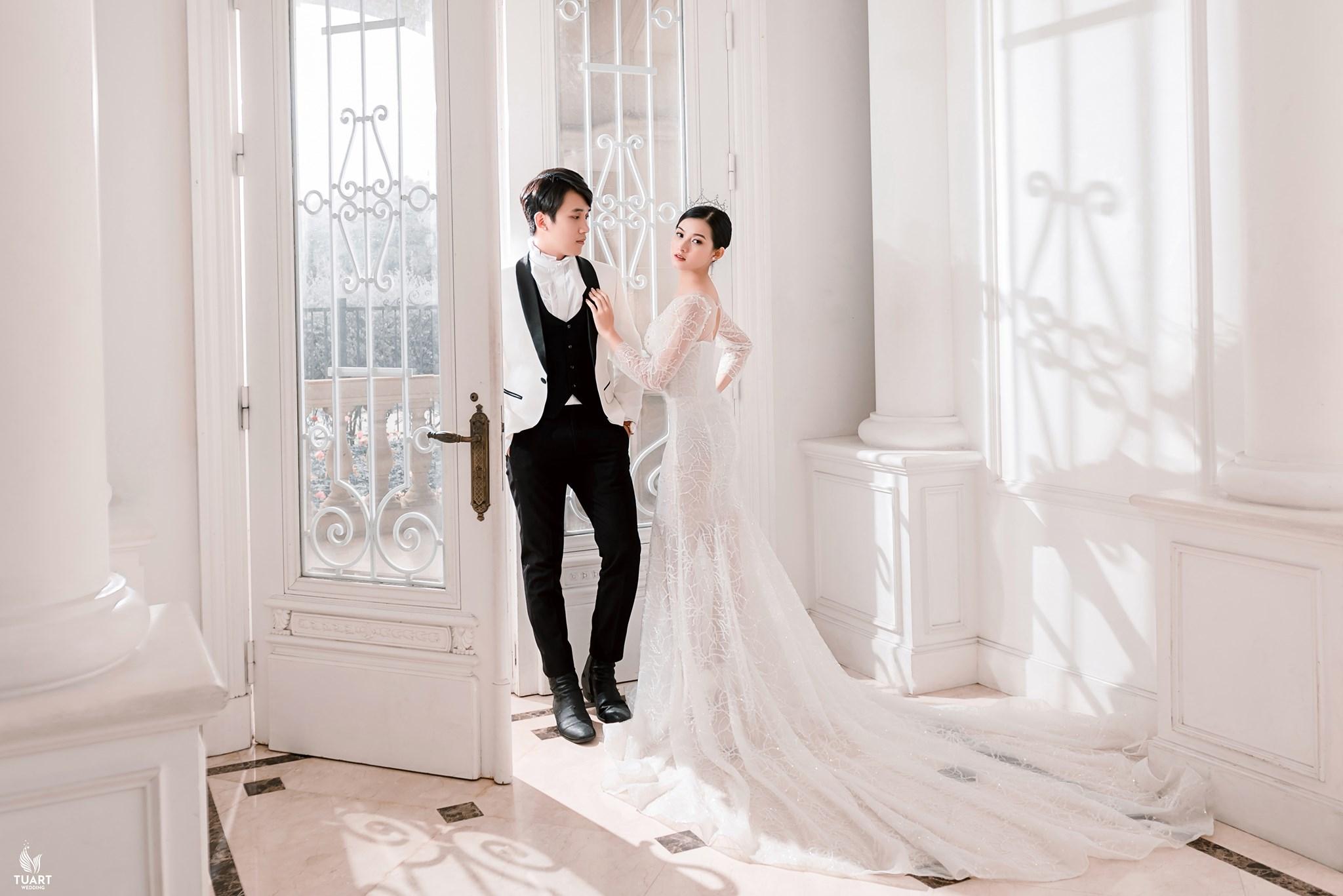Album ảnh cưới đẹp tại Hà Nội : Biệt Thự Hoa Hồng