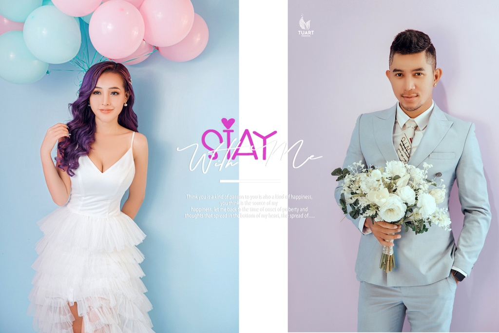 Album ảnh cưới đẹp tại HCM: Studio