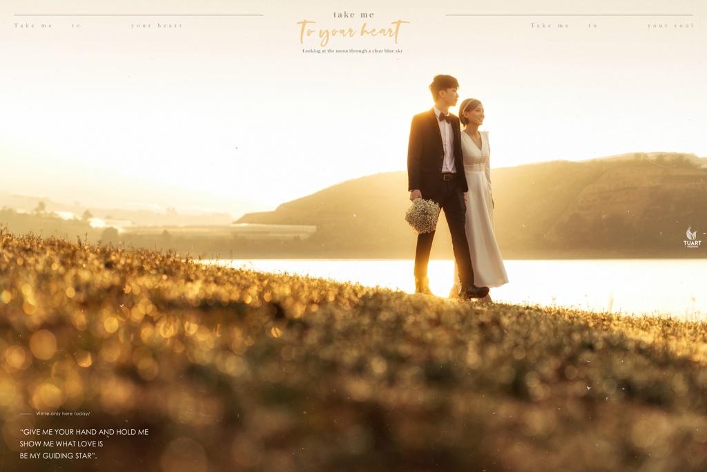 Album ảnh cưới đẹp tại Đà Lạt