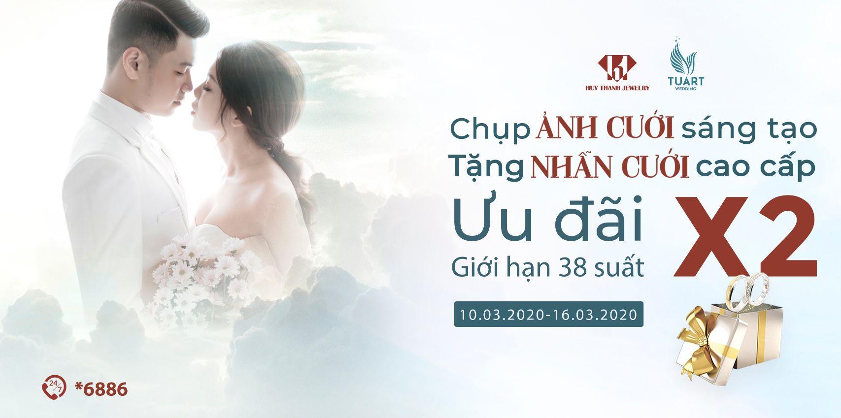 TuArt Wedding: Chụp ảnh cưới – Tặng Nhẫn cưới cao cấp