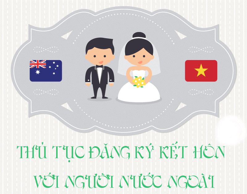 Hướng dẫn chi tiết các thủ tục đăng ký kết hôn với người nước ngoài
