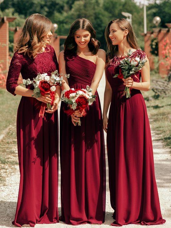 váy phù dâu đep