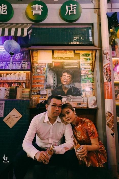 ảnh cưới hongkong