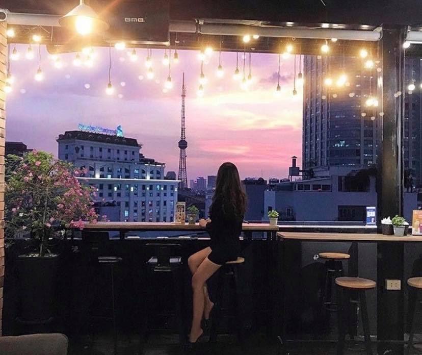 quán cà phê đẹp quận hai bà trưng