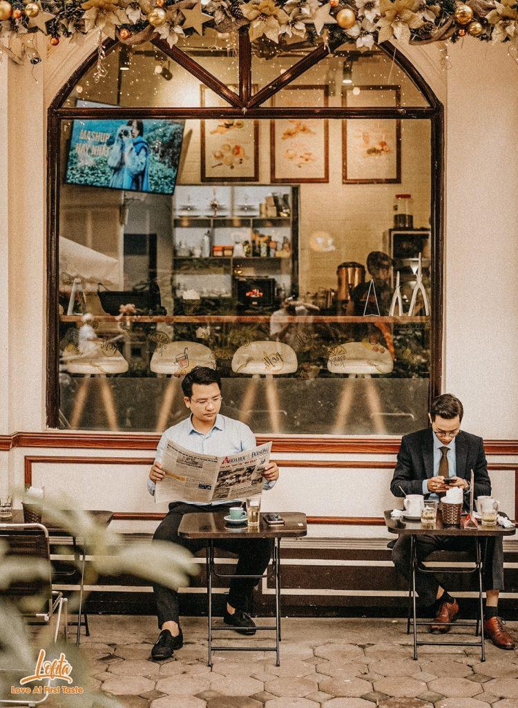 quán cà phê ngon view đẹp hai bà trưng