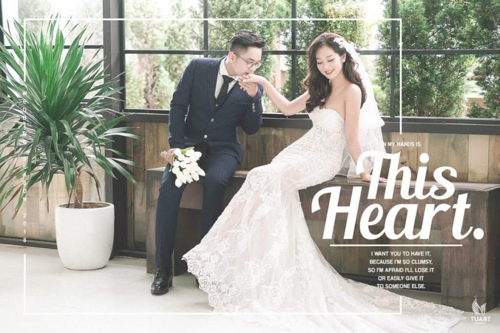 studio chụp ảnh cưới đẹp hòa bình