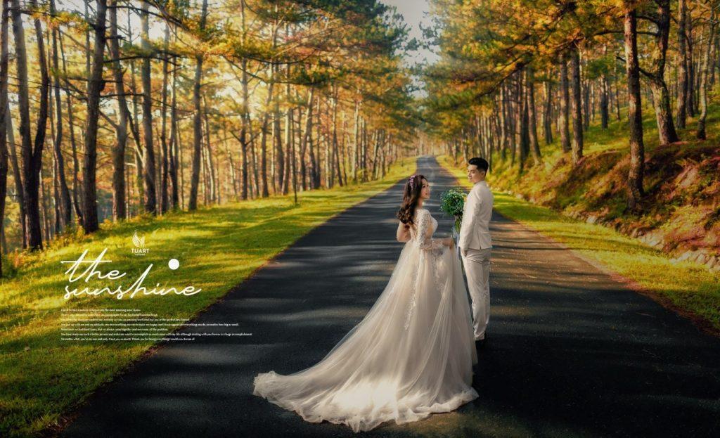 hình cưới đẹp đắk lắk