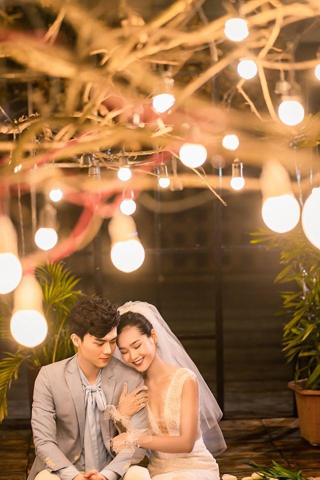 Album ảnh cưới đẹp Hàn Quốc tại phim trường Santorini Hà Nội 28