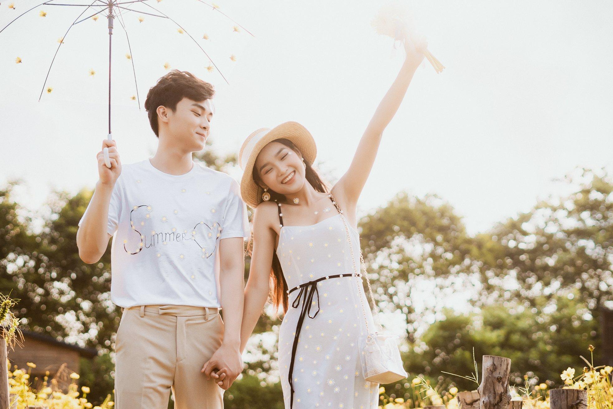 Album ảnh cưới đẹp Hàn Quốc tại phim trường Santorini Hà Nội 43