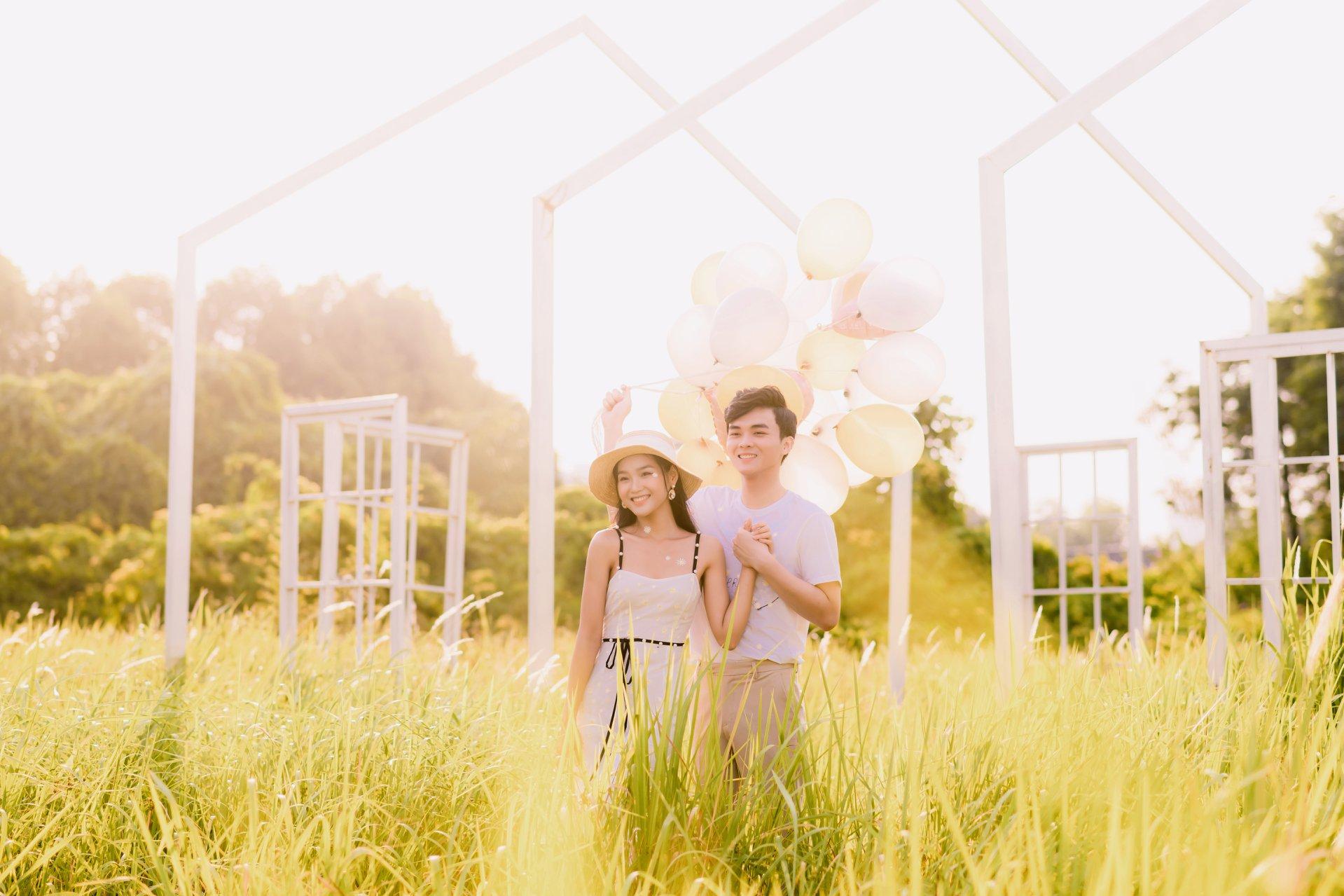 Album ảnh cưới đẹp Hàn Quốc tại phim trường Santorini Hà Nội 40