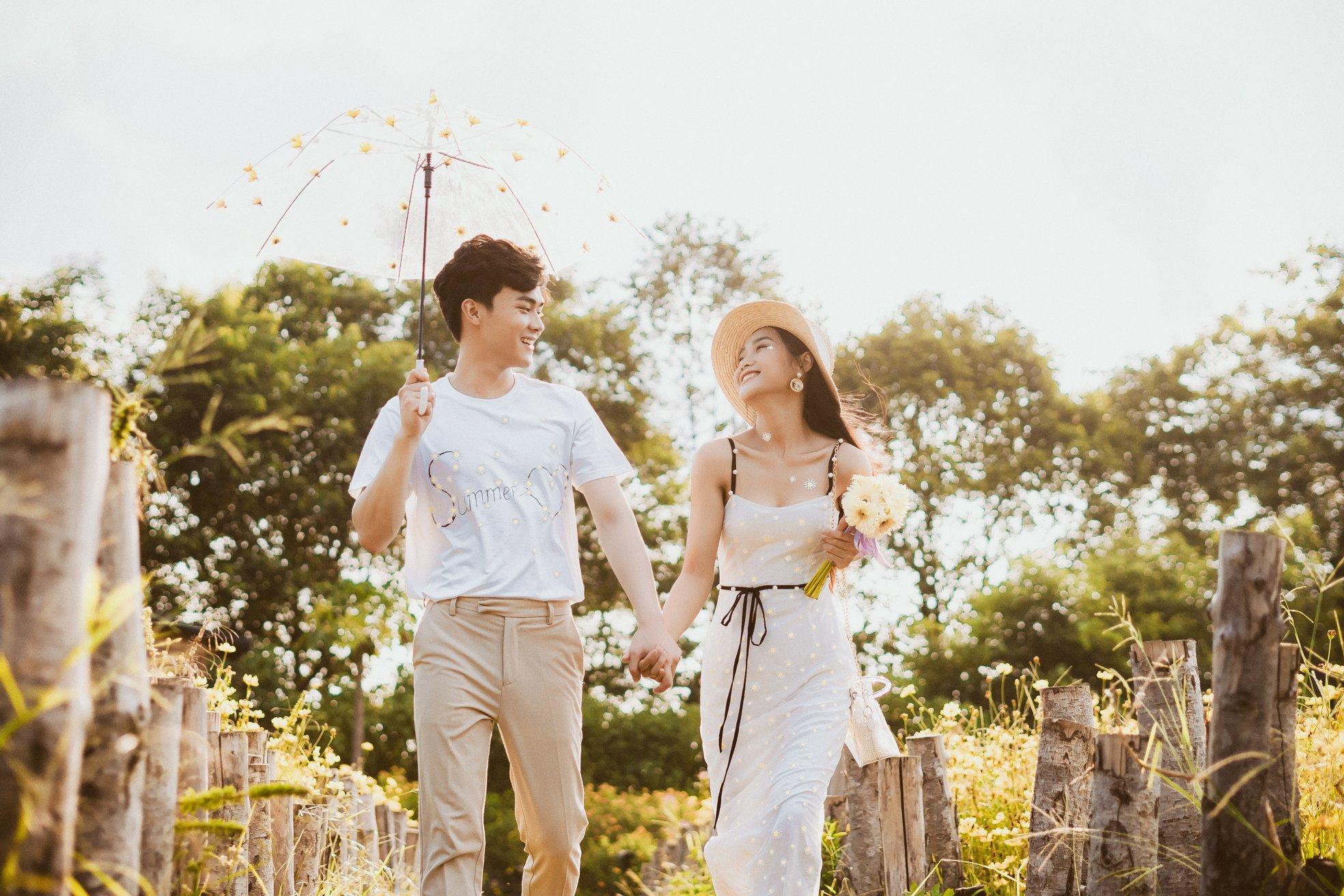 Album ảnh cưới đẹp Hàn Quốc tại phim trường Santorini Hà Nội 44