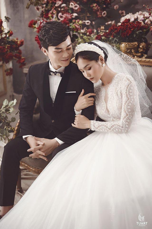Album ảnh cưới đẹp Hàn Quốc tại phim trường Santorini Hà Nội 14