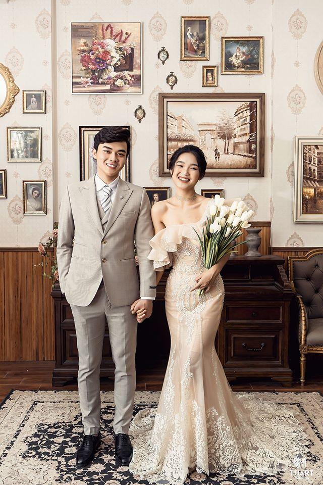 Album ảnh cưới đẹp Hàn Quốc tại phim trường Santorini Hà Nội 3