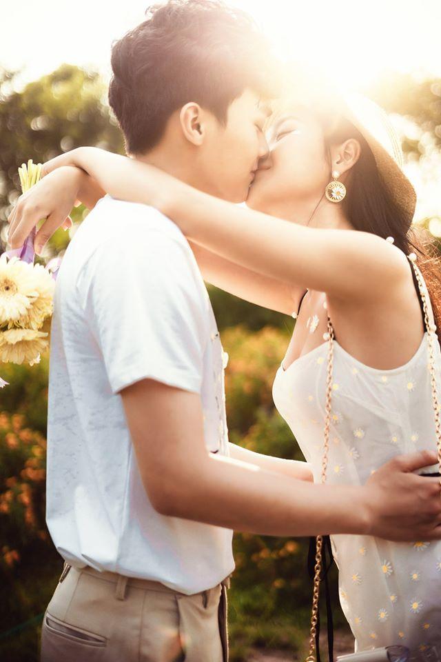 Album ảnh cưới đẹp Hàn Quốc tại phim trường Santorini Hà Nội 38