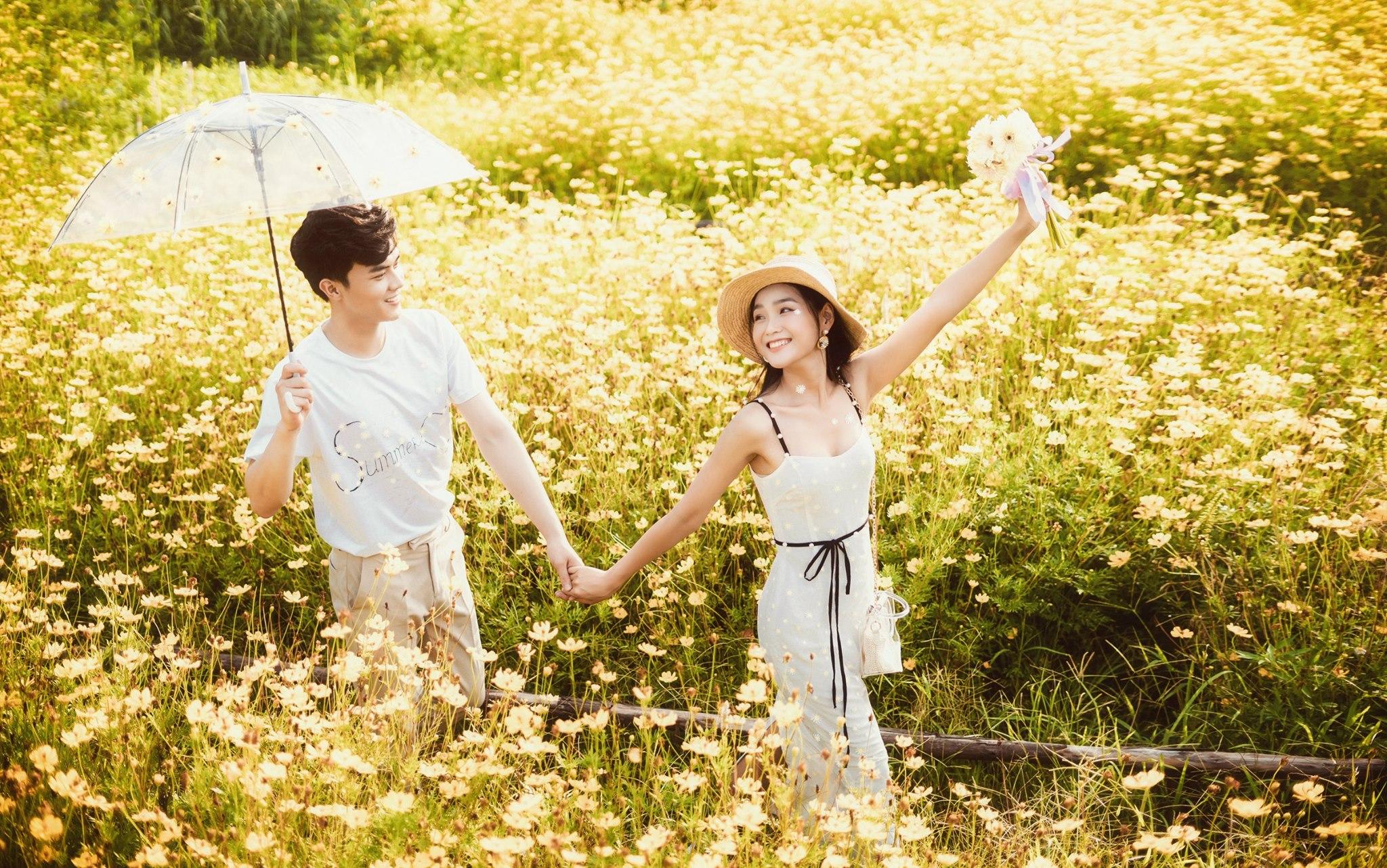 Album ảnh cưới đẹp Hàn Quốc tại phim trường Santorini Hà Nội 41