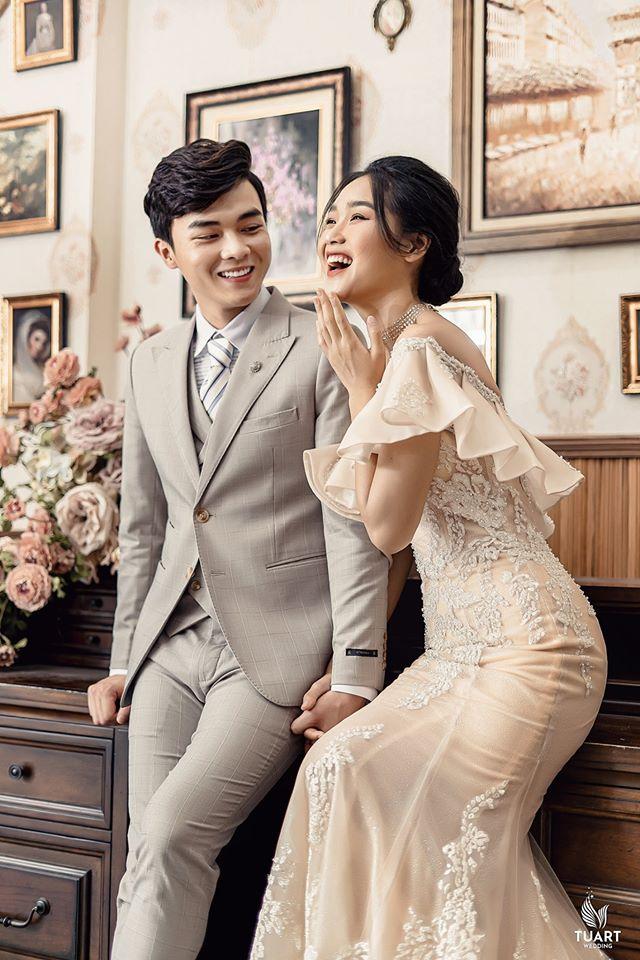 Album ảnh cưới đẹp Hàn Quốc tại phim trường Santorini Hà Nội 4