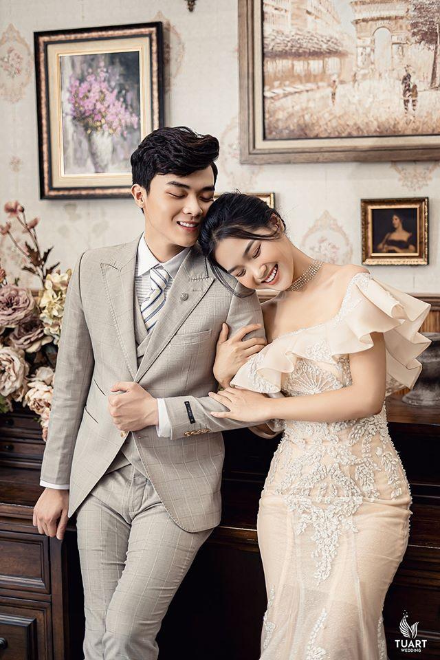 Album ảnh cưới đẹp Hàn Quốc tại phim trường Santorini Hà Nội 5