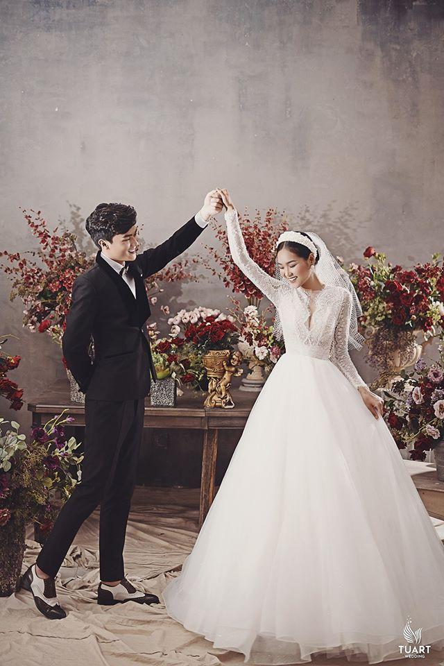 Album ảnh cưới đẹp Hàn Quốc tại phim trường Santorini Hà Nội 13