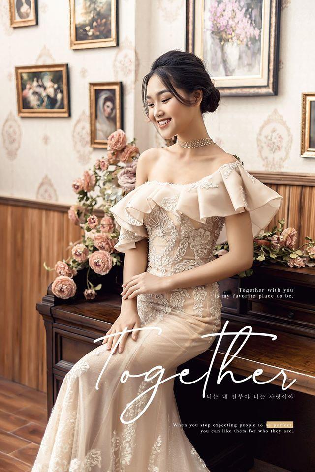 Album ảnh cưới đẹp Hàn Quốc tại phim trường Santorini Hà Nội 12