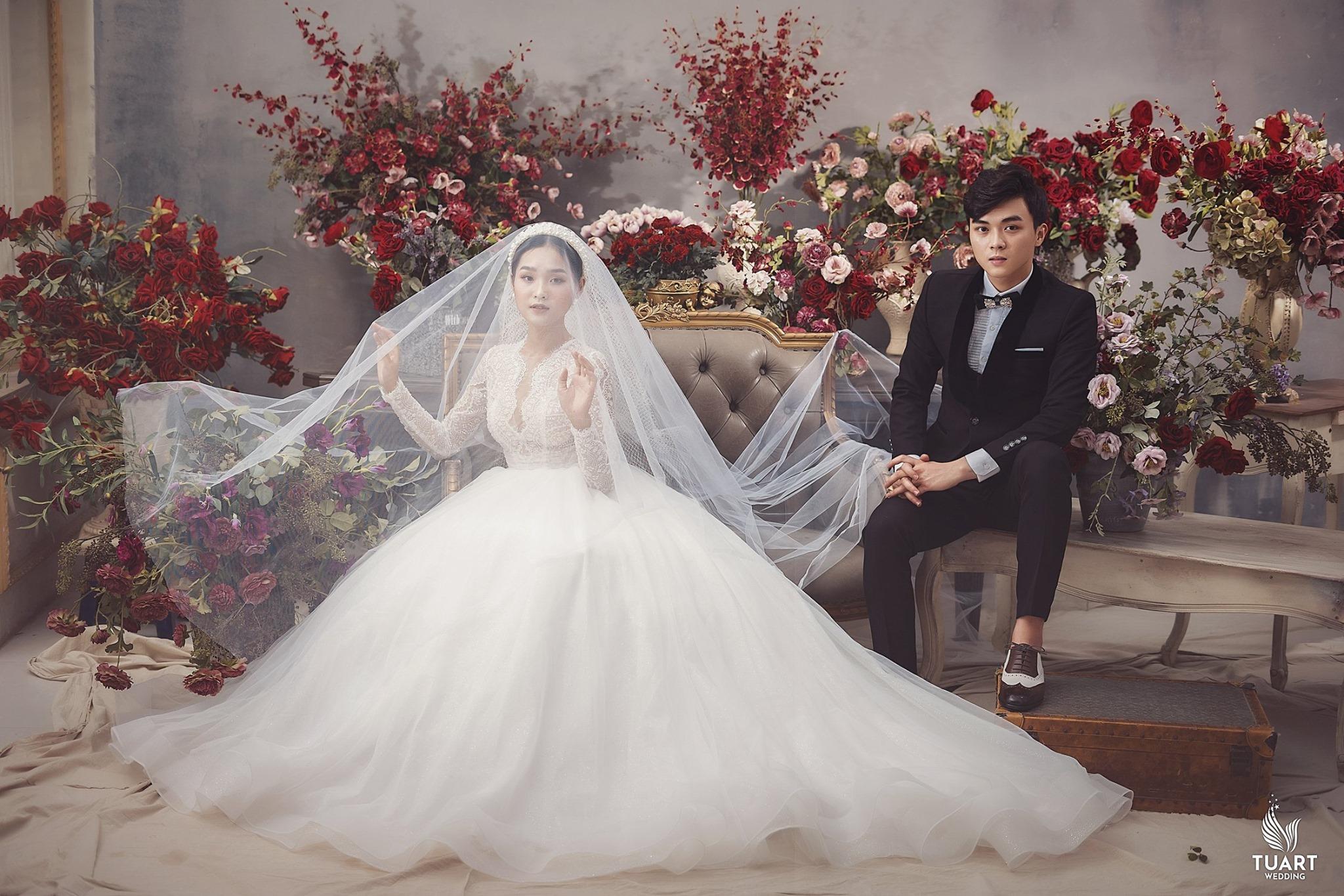 Album ảnh cưới đẹp Hàn Quốc tại phim trường Santorini Hà Nội 21