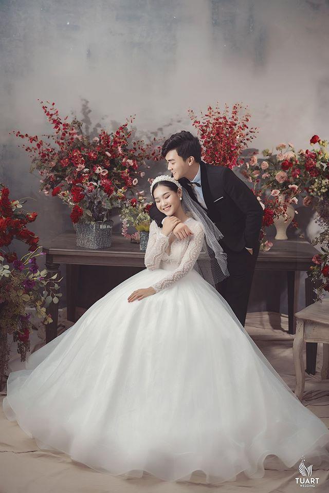 Album ảnh cưới đẹp Hàn Quốc tại phim trường Santorini Hà Nội 18