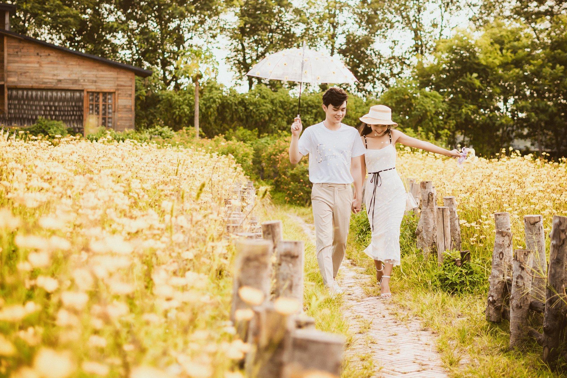 Album ảnh cưới đẹp Hàn Quốc tại phim trường Santorini Hà Nội 37