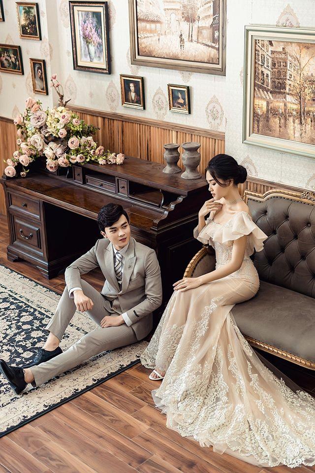 Album ảnh cưới đẹp Hàn Quốc tại phim trường Santorini Hà Nội 2