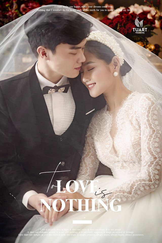 Album ảnh cưới đẹp Hàn Quốc tại phim trường Santorini Hà Nội 23