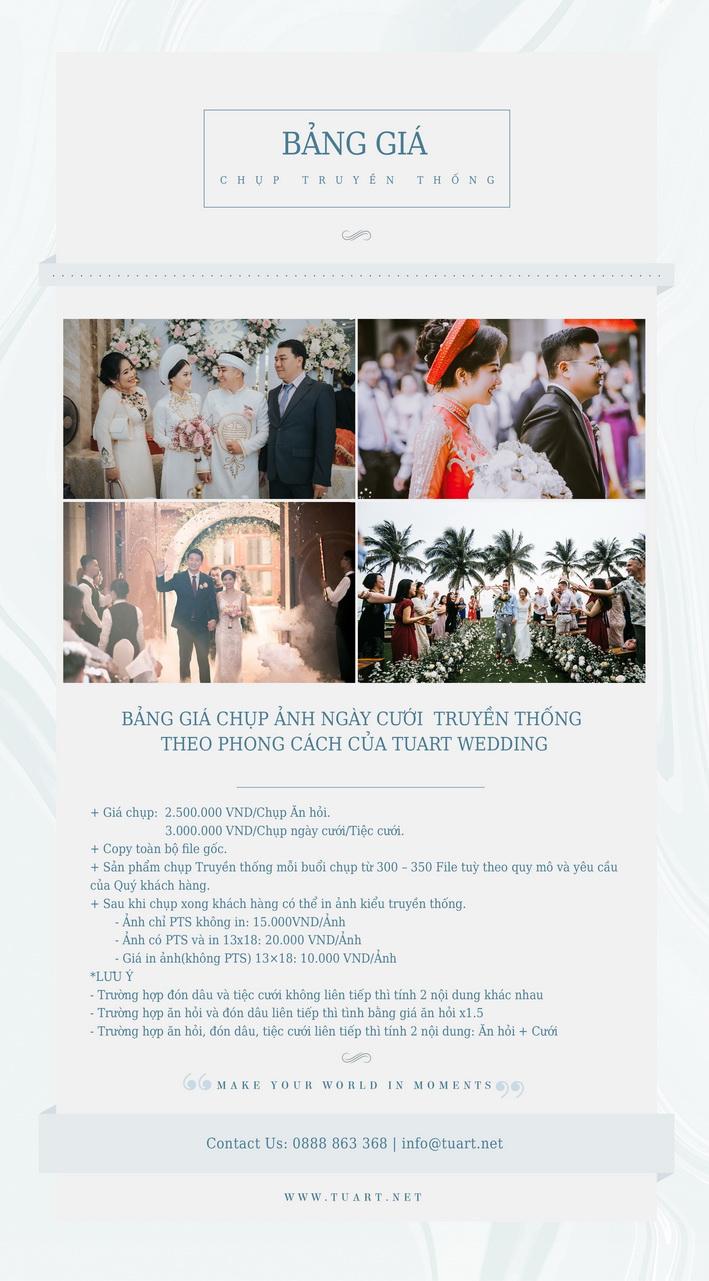 Chụp truyền thống cưới