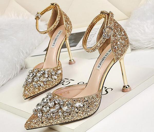giày cưới cô dâu đep