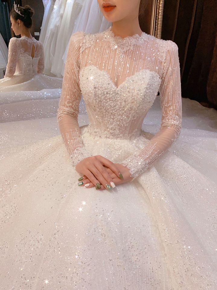 áo cưới đẹp vinh